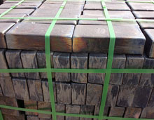 cast basalt tile in pallet packaging