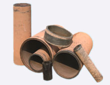 cast basalt pipe combination